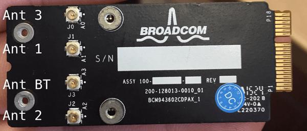 Classic Mac Pro (5,1): Upgrade Wi-Fi to 802 11ac and