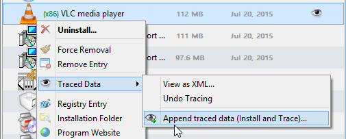 Install Tracker, Append Traced Data